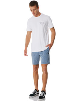 WHITE MENS CLOTHING BILLABONG TEES - 9581026WHT