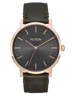 ROSE GOLD GUNMETAL MENS ACCESSORIES NIXON WATCHES - A10582441