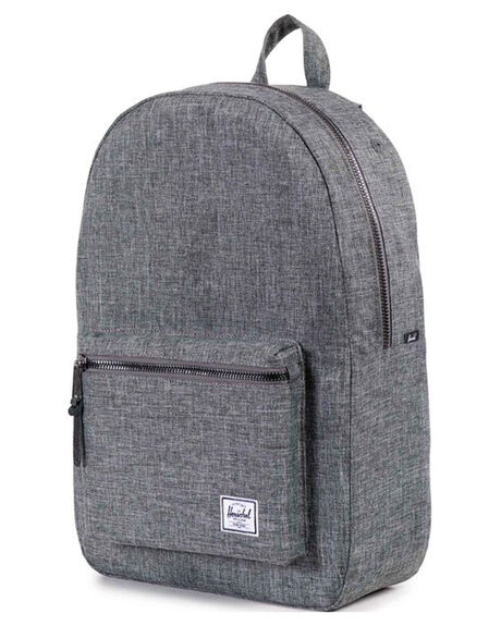 RAVEN CROSSHATCH MENS ACCESSORIES HERSCHEL SUPPLY CO BAGS + BACKPACKS - 10005-00919-OS