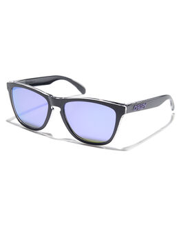 BLACK VIOLET IRID MENS ACCESSORIES OAKLEY SUNGLASSES - OO9013-B955BKVIO