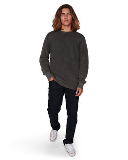 BLACK MENS CLOTHING BILLABONG KNITS + CARDIGANS - BB-9507805-BLK