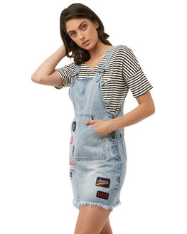 VINTAGE BLUE WOMENS CLOTHING MINKPINK PLAYSUITS + OVERALLS - MD1707961BLUE