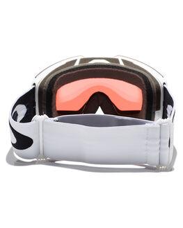 MATTE WHT PRIZM ROSE BOARDSPORTS SNOW OAKLEY GOGGLES - OO7085-11MWHI