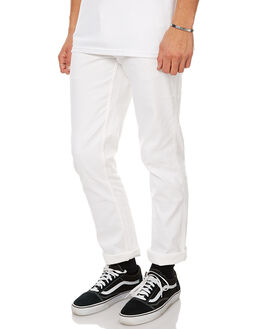 WHITE MENS CLOTHING BRIXTON PANTS - 4038WHI
