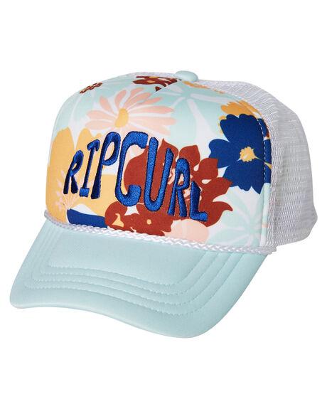 LIGHT BLUE KIDS GIRLS RIP CURL HEADWEAR - FCABF11080