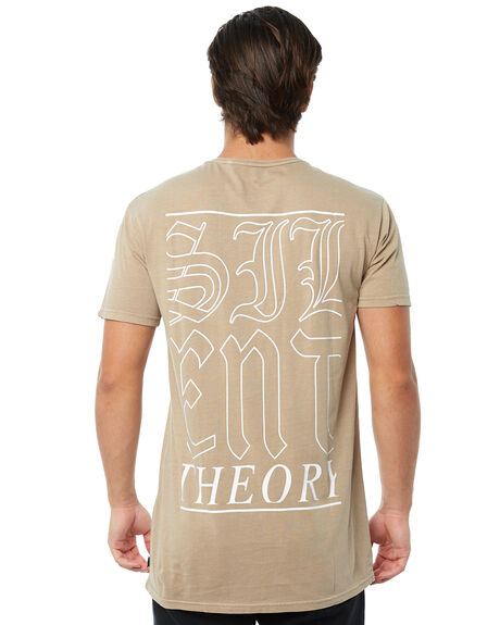 BEIGE MENS CLOTHING SILENT THEORY TEES - 4013011BEIG