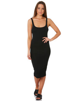 BLACK WOMENS CLOTHING SWELL DRESSES - S8201454BLACK