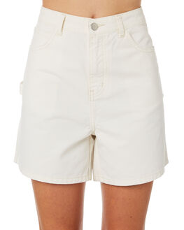 IVORY WOMENS CLOTHING ZULU AND ZEPHYR SHORTS - ZZ2275IVORY