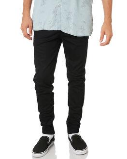 BLACK MENS CLOTHING ZANEROBE PANTS - 738-VERBLACK