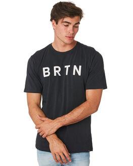 TRUE BLACK MENS CLOTHING BURTON TEES - 203751001