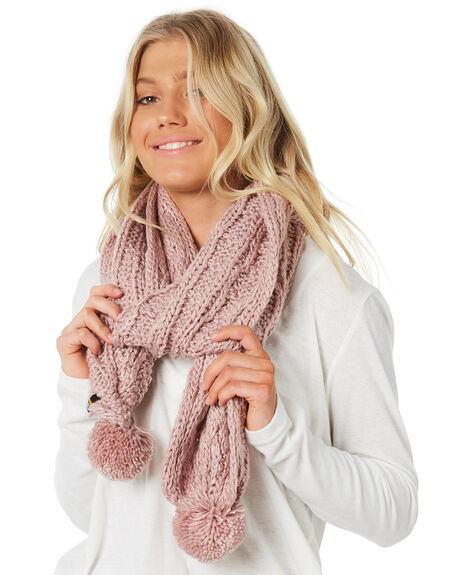 WOODROSE WOMENS ACCESSORIES RUSTY SCARVES + GLOVES - MAL0388WDR