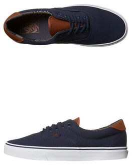 DRESS BLUES MATERIAL MENS FOOTWEAR VANS SNEAKERS - VN-08FSMVEBLU