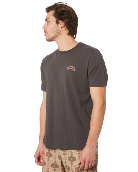 CHARCOAL MENS CLOTHING RHYTHM TEES - OCT19M-PT06-CHA