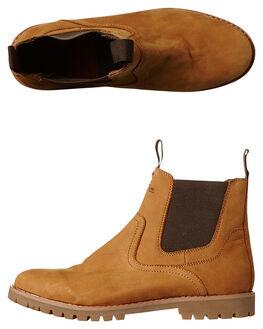 COGNAC MENS FOOTWEAR RIP CURL BOOTS - TCLAA40215