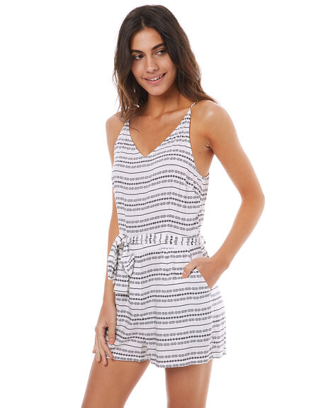 PRINT WOMENS CLOTHING ELWOOD PLAYSUITS + OVERALLS - W74715PRNT