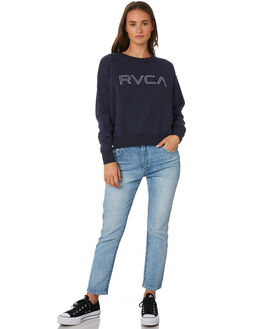 NAVY WOMENS CLOTHING RVCA JUMPERS - R293155NVY