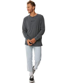 BLACK MENS CLOTHING RVCA TEES - R183099BLK