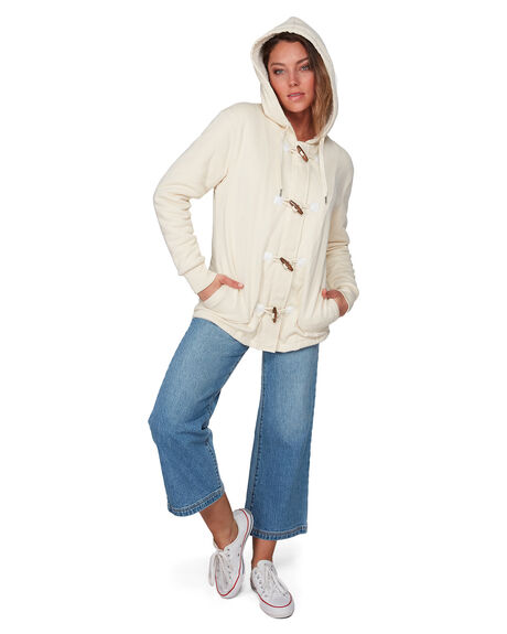 WHITE SWAN WOMENS CLOTHING BILLABONG JUMPERS - BB-6508738-WHS