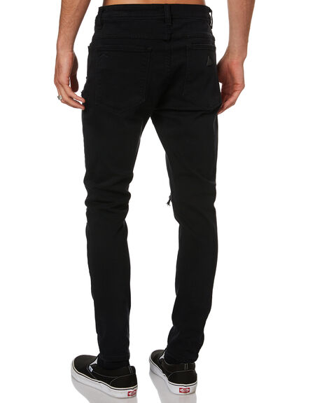 BLACK ROGUE MENS CLOTHING ABRAND JEANS - 817125517