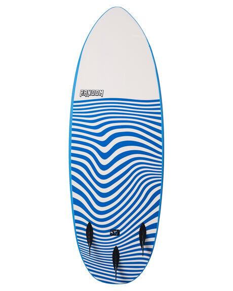BLUE BOARDSPORTS SURF RANDOM SOFTBOARDS SOFTBOARDS - 130438BLU
