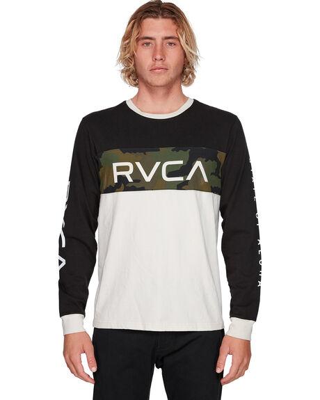 CAMO MENS CLOTHING RVCA TEES - RV-R308092-CMO