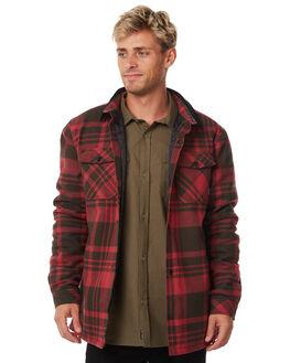 RUSSET MENS CLOTHING DEPACTUS SHIRTS - D5184170RUSST