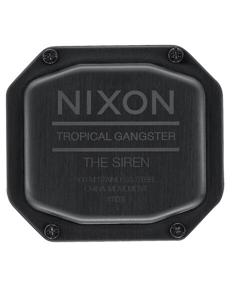 ALL BLACK WOMENS ACCESSORIES NIXON WATCHES - A1210001