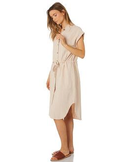 SAND OUTLET WOMENS RHYTHM DRESSES - APR19W-DR01-SAN