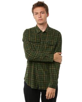 MILITARY MENS CLOTHING RVCA SHIRTS - R183181MILIT
