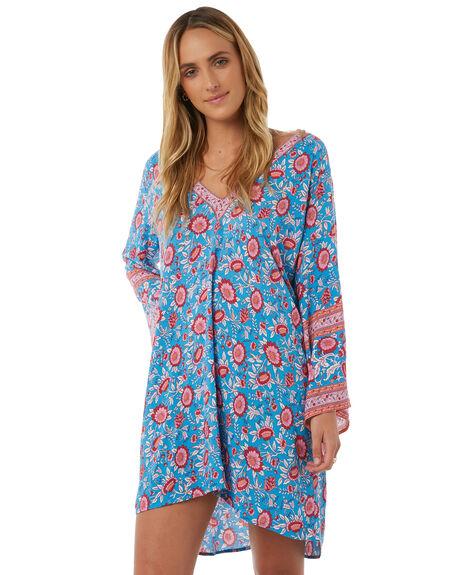 BLUE WOMENS CLOTHING ARNHEM DRESSES - ARPRKA01BLU