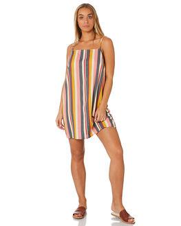 BLUSH WOMENS CLOTHING RUSTY DRESSES - DRL0998BSH