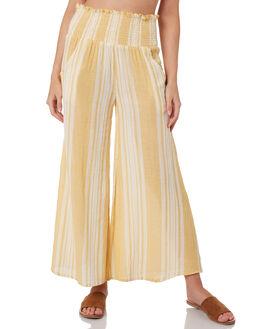 GOLD WOMENS CLOTHING RIP CURL PANTS - GPANB90146