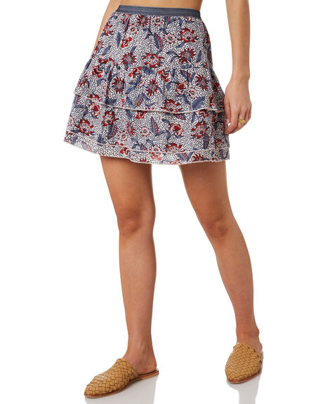 AWAY TROPICAL  WHITE OUTLET WOMENS THE HIDDEN WAY SKIRTS - H8202475ATRPL