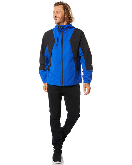 TNF BLACK TNF BLUE MENS CLOTHING THE NORTH FACE JACKETS - NF0A4AGFG37