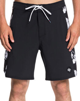 BLACK MENS CLOTHING QUIKSILVER BOARDSHORTS - EQYBS04067KVJ6