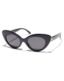 BLACK WOMENS ACCESSORIES CRAP SUNGLASSES - 173X05GGBLK