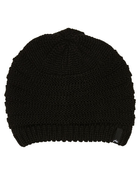 BLACK WOMENS ACCESSORIES RUSTY HEADWEAR - HBL0051BLK