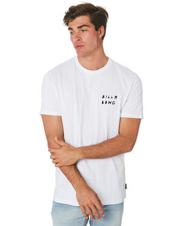 WHITE MENS CLOTHING BILLABONG TEES - 9596028AWHT