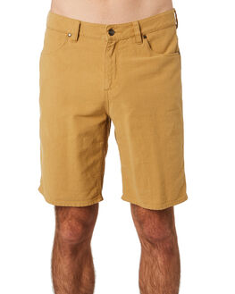 AMBER ALE MENS CLOTHING WRANGLER SHORTS - W-901647-ML3AMBAL