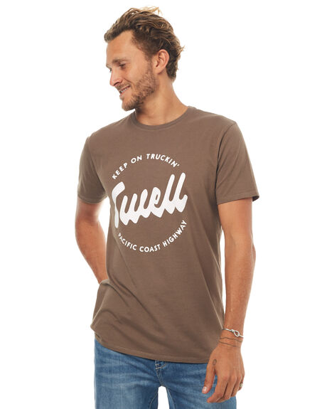 WASHED OLIVE MENS CLOTHING SWELL TEES - S5171004WSHOL