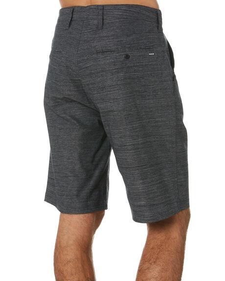 BLACK MENS CLOTHING HURLEY SHORTS - MWS0006510H010