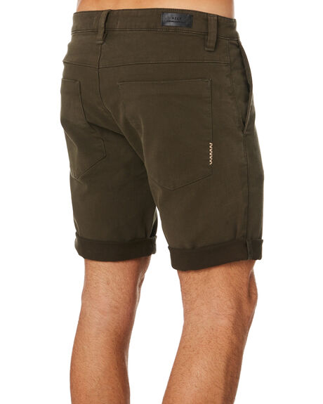 OLIVE GREEN OUTLET MENS NEUW SHORTS - 326804664