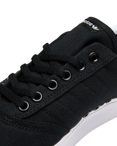 BLACK WHITE MENS FOOTWEAR ADIDAS SKATE SHOES - SSB22706BLKM