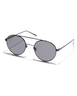 MATTE BLACK WOMENS ACCESSORIES OSCAR AND FRANK SUNGLASSES - 012MTBLK