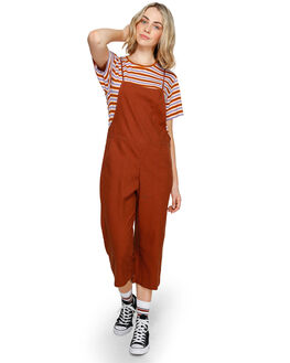 TORTOISE SHELL WOMENS CLOTHING ELEMENT PLAYSUITS + OVERALLS - 293871TORT