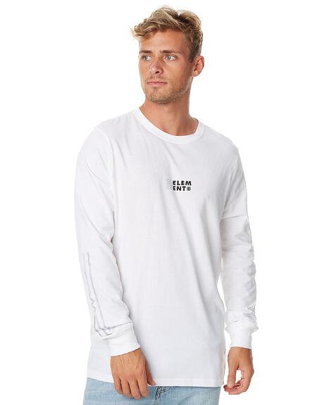 OPTIC WHITE MENS CLOTHING ELEMENT TEES - 176067AOWHT