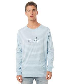 BLUE STRIPE MENS CLOTHING BARNEY COOLS TEES - 136-MC4BSTR