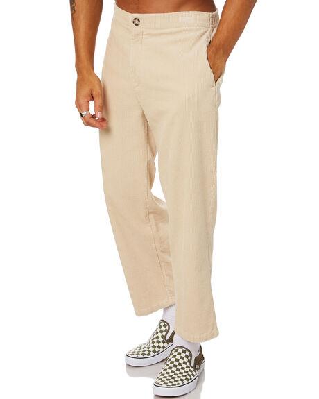 LIGHT SAND MENS CLOTHING STUSSY PANTS - ST015602LTSND