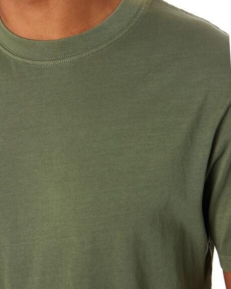 DARK OLIVE MENS CLOTHING RIP CURL TEES - CTEMA99389