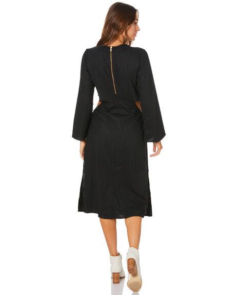 BLACK OUTLET WOMENS RUE STIIC DRESSES - SW-20-33-1-B1-LRBLK